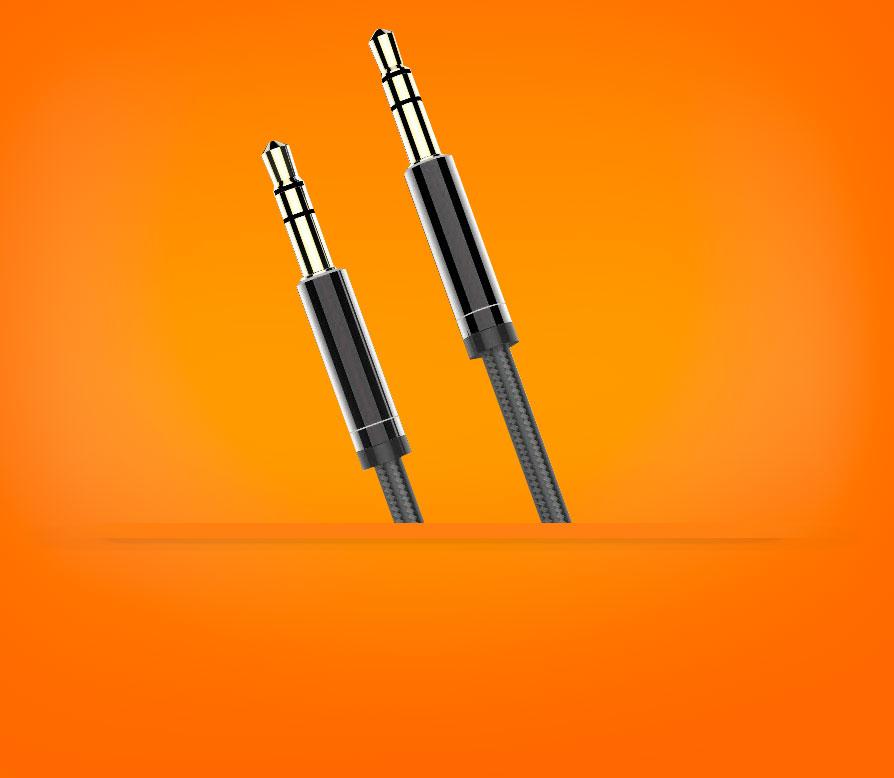 AUX кабель 3.5mm BRUM UX002