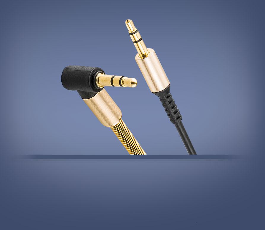 AUX кабель 3.5mm BRUM UX001