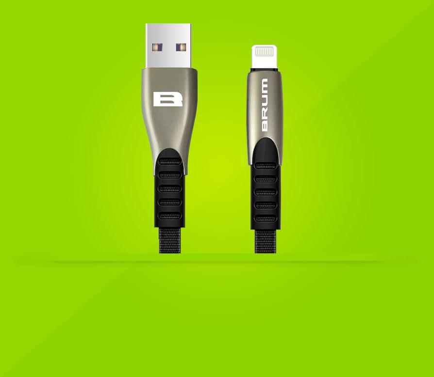 Кабель USB BRUM Metal U006