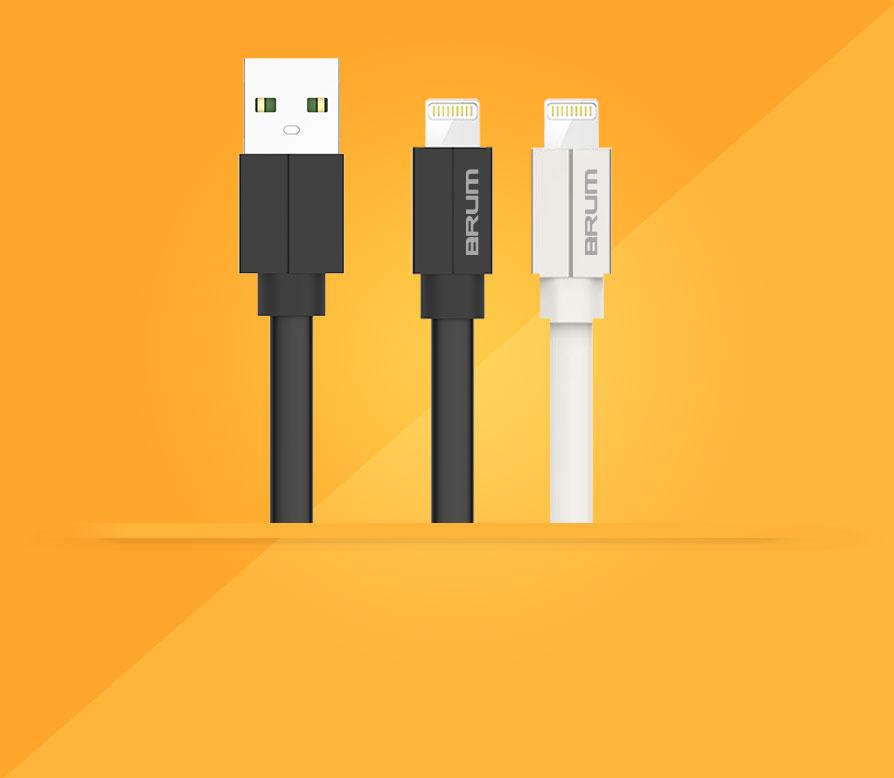 Кабель USB BRUM Silicon U010
