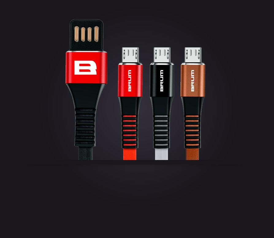 Кабель USB BRUM Strong U002