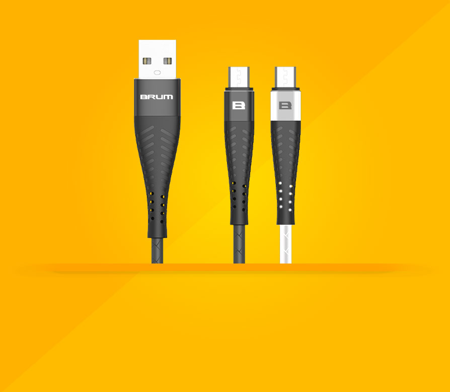 Кабель USB BRUM Flexible U012