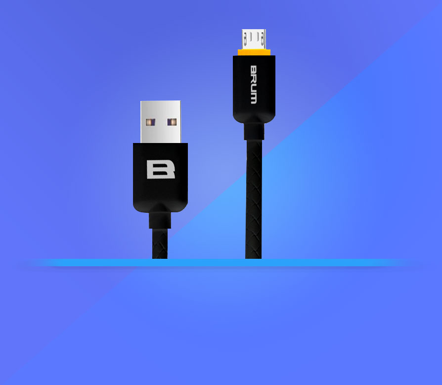 Кабель USB BRUM Silicon U008
