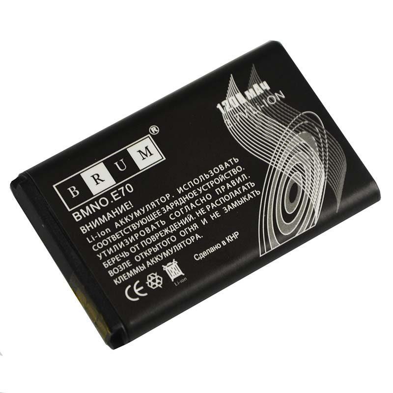 Аккумулятор Brum Standard Nokia E70 BL-6C (1200mAh)
