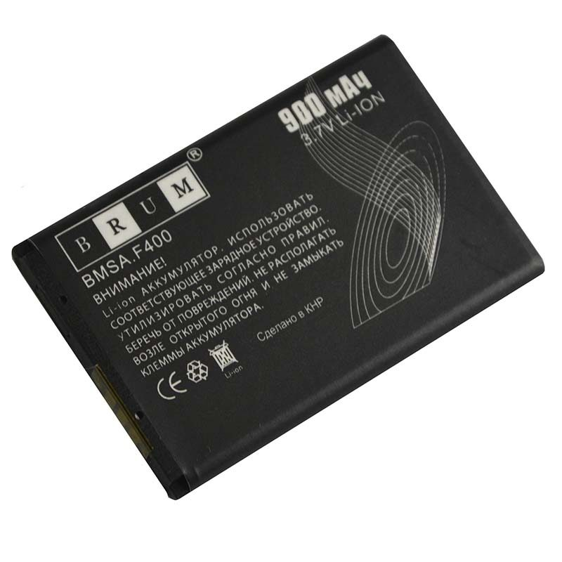 Аккумулятор Brum Standard Samsung F400 (900mAh) (AB463651B)