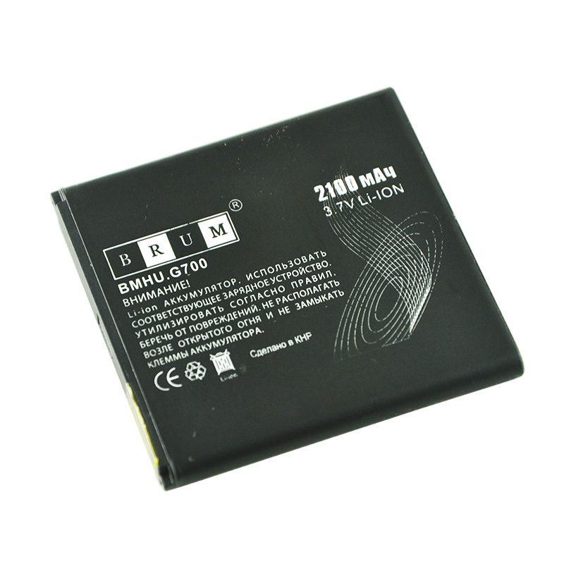 Аккумулятор Brum Standard Huawei Ascend G600 (HB5R1V) (2100mAh)