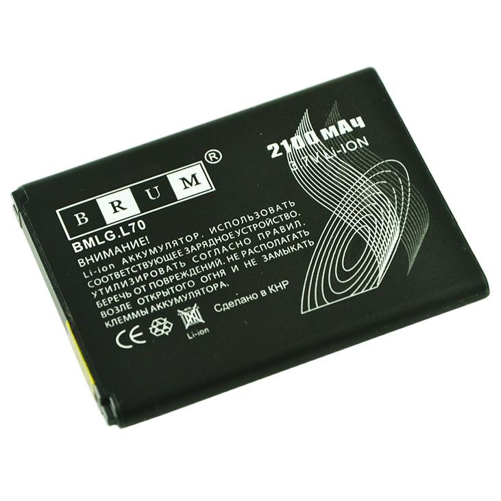 Аккумулятор Brum Standard LGL70 (BL-52UH) (2100mAh)