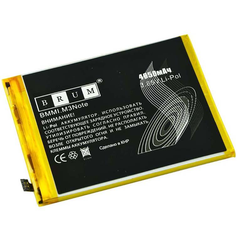 Аккумулятор Brum Standard Meizu M3 Note (BT61) (4050mAh) (M ВЕРСИЯ)