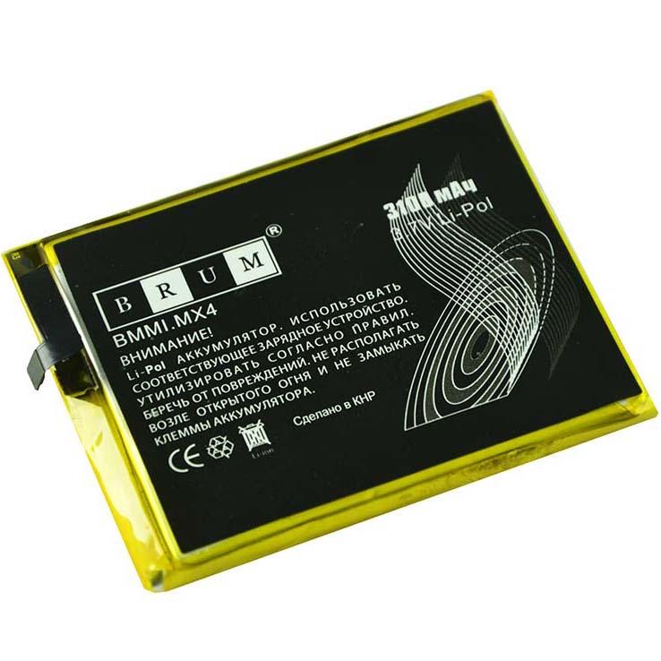 Аккумулятор Brum StandardMeizu MX4 (BT40) (3100mAh)