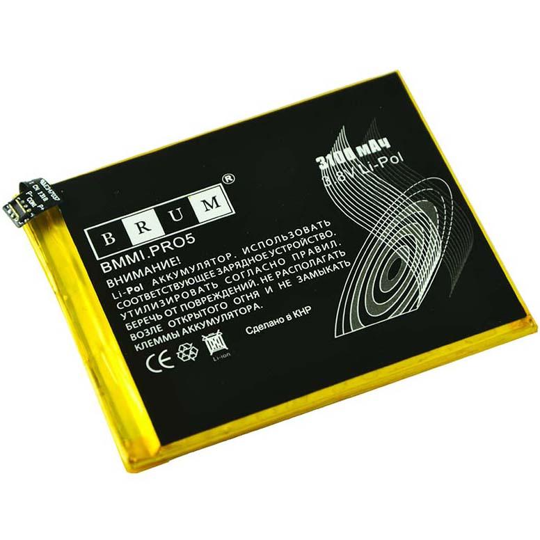 Аккумулятор Brum StandardMeizu Pro 5 (BT45A) (3100mAh)
