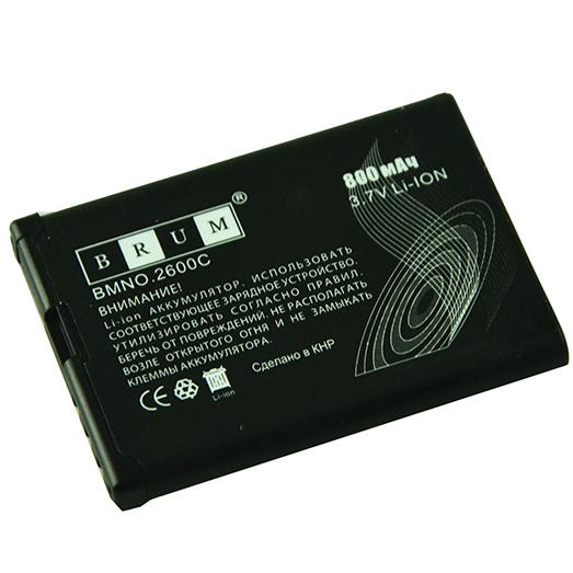 Аккумулятор Brum Premium Nokia 2600C (BL-5BT) (800mAh)