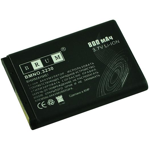 Аккумулятор Brum Standard Nokia 3230 (BL-5B) (800mAh)