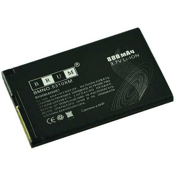Аккумулятор Brum Standard Nokia 5310 (BL-4CT) (800mAh)
