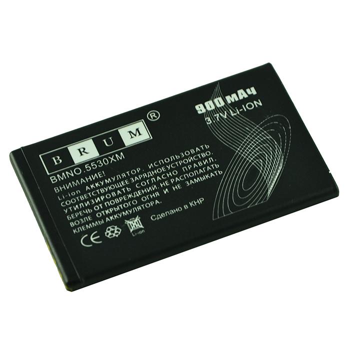 Аккумулятор Brum Premium Nokia 5530 (BL-5U) (900mAh)