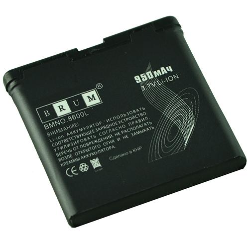Аккумулятор Brum Premium Nokia 8600 (BP-5M) (950mAh)