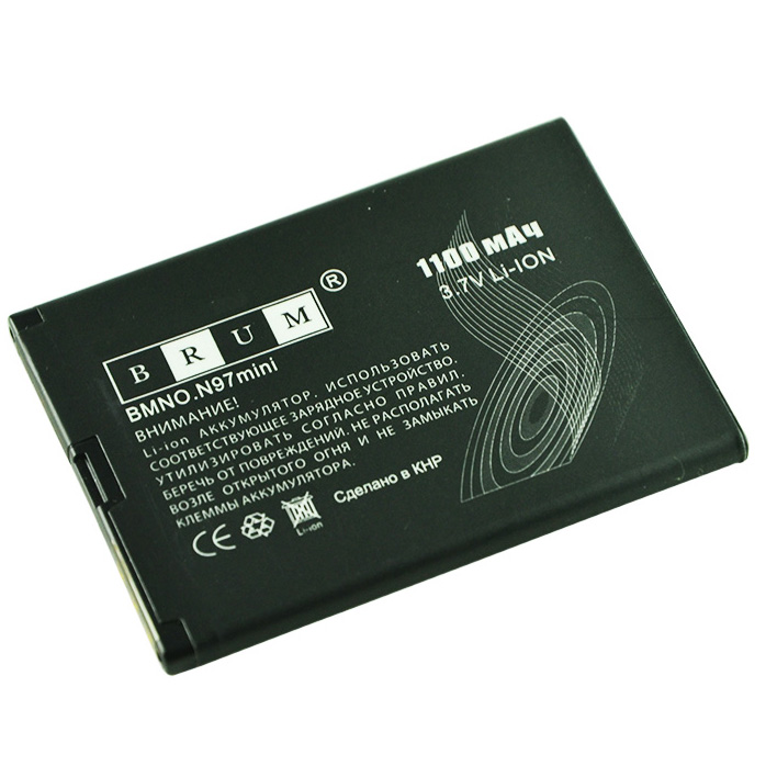 Аккумулятор Brum Standard Nokia N97 mini (BL-4D) (1100mAh)