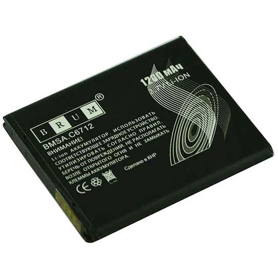 Аккумулятор Brum Standard Samsung C6712 (ED494353VU) (1200mAh)