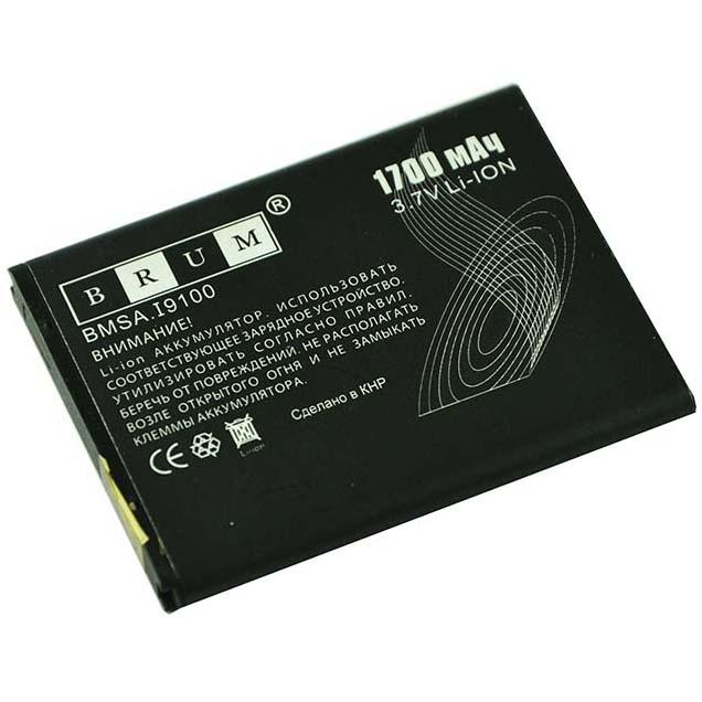 Аккумулятор Brum Standard Samsung i9100 (1700mAh)