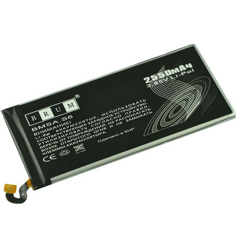 Аккумулятор Brum Standard Samsung S6 G920 (EB-BG920ABE) (2550mAh)