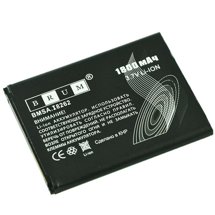 Аккумулятор Brum Standard Samsung I8262 (B150AE) (1800mAh)