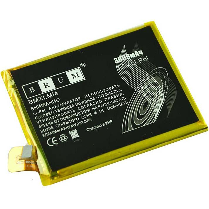 Аккумулятор Brum StandardXiaomi Mi4 (BM32) (3000mAh)