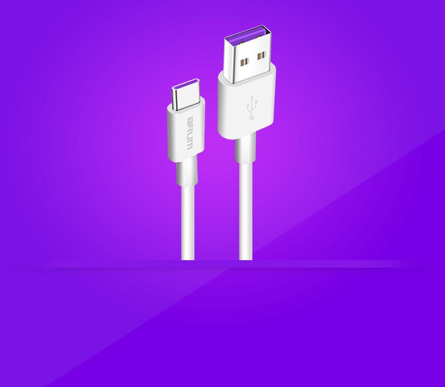 Кабель USB BRUM Silicon U019t